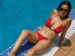 HotSensationX - female with red hair and  big tits webcam at xLoveCam