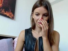 MissJoliSourire - female with brown hair webcam at xLoveCam