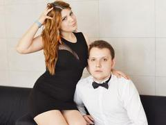 KeyshaXPeter - couple webcam at xLoveCam