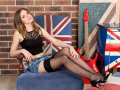 LexieLil - female with red hair and  small tits webcam at xLoveCam