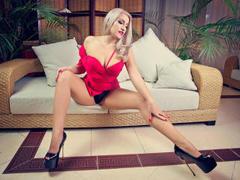 LidiaVeil - blond female with  big tits webcam at LiveJasmin