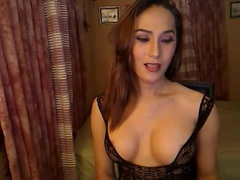 MistressOfTheWest - shemale with black hair webcam at xLoveCam
