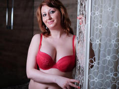CuteBabe2Love - female with brown hair and  big tits webcam at LiveJasmin