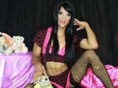 PAULYNATS - shemale with black hair and  small tits webcam at ImLive