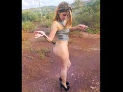 PussySweetCarool - blond female webcam at xLoveCam