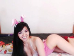 SandyBoobs - female with black hair and  big tits webcam at xLoveCam