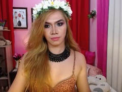 ShantalRomance - blond shemale with  small tits webcam at LiveJasmin
