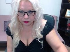 MILFSonja - blond female with  big tits webcam at LiveJasmin
