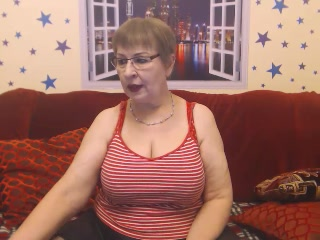 mom on webcam Busty